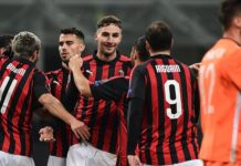 Europa League - Cuplikan Gol AC Milan vs Dudelange 30 November 2018