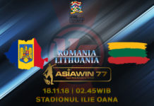 Prediksi Bola Romania vs Lithuania 18 November 2018