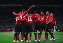 Premier League – Cuplikan Gol : Manchester United 4 - 1 Bournemouth