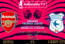 Prediksi Skor Bola Arsenal vs Cardiff City 30 Januari 2019