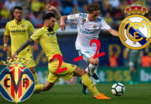 Premier League Cuplikan Gol : Villarreal 2 - 2 Real Madrid