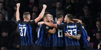 Hasil Skor Pertandingan Inter milan vs As roma