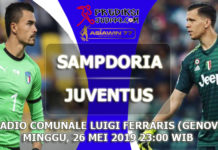 SAMPDORIA VS JUVENTUS 26 MEI 2019