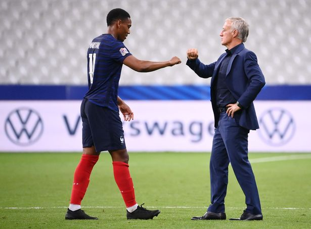 Sukses Berevolusi di Man United, Kini Anthony Martial Dipuji Deschamps