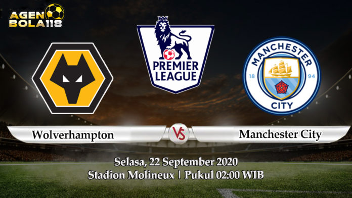 Prediksi Wolverhampton vs Manchester City 22 September 2020