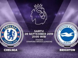 Prediksi Brighton Hove Albion Vs Chelsea 15 September 2020