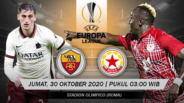 Prediksi AS Roma vs CFR Cluj 06 November 2020