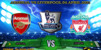 Prediksi Skor Arsenal vs Liverpool 04 April 2021