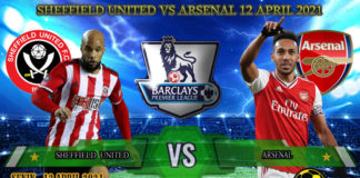 Prediksi Skor Sheffield United vs Arsenal 12 April 2021